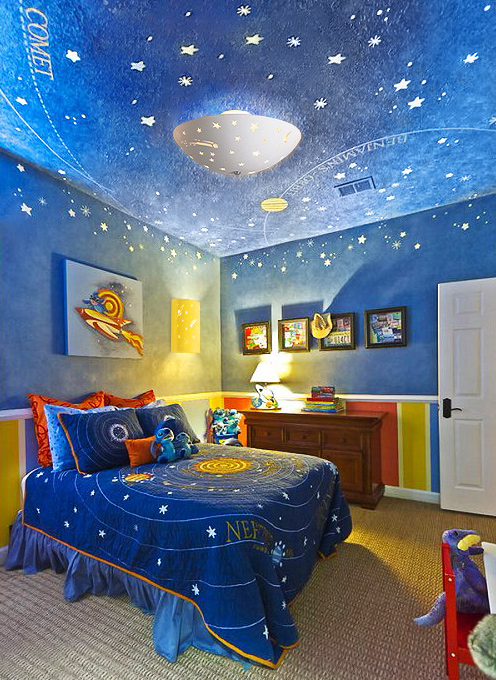 childrens-room-outer-space-theme