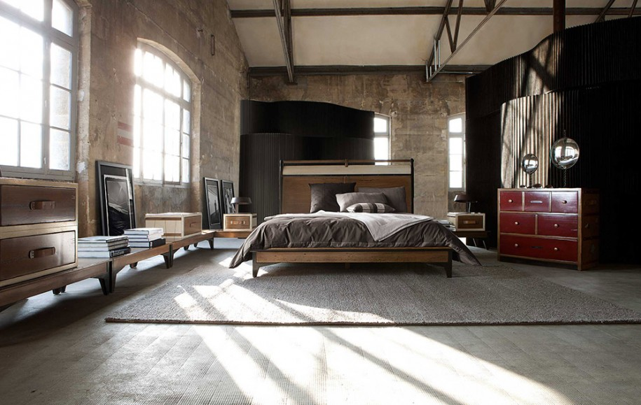 concrete-bedroom-decor-decorating-ideas