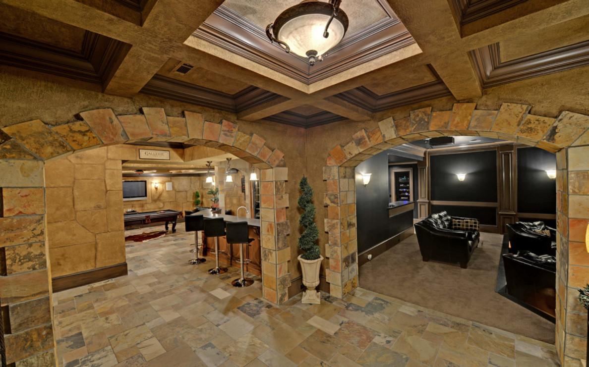 mediterranean-basement-extraordinary-decoration-ideas
