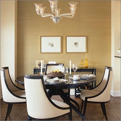 mid-century modern dining room design46