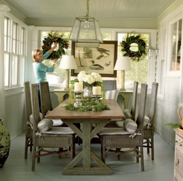 Outstanding Transitional Dining Room Suitable For Any Home: 15 Outstanding Rustic Dining Design Ideas