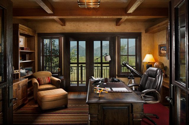 rustic-home-office _