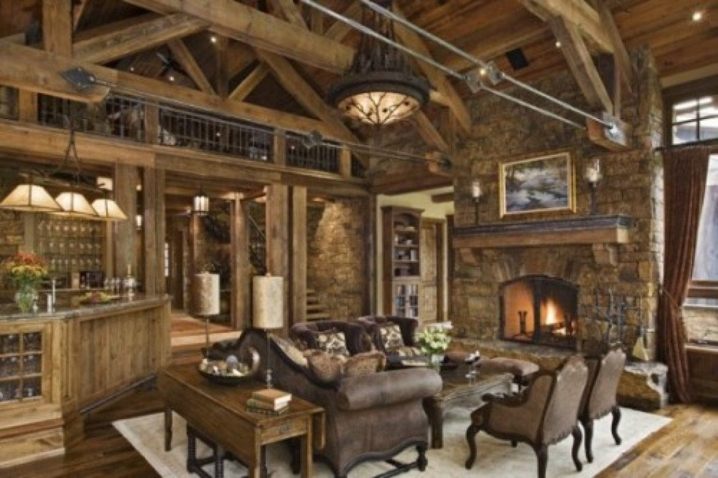rustic-living-room-ideas