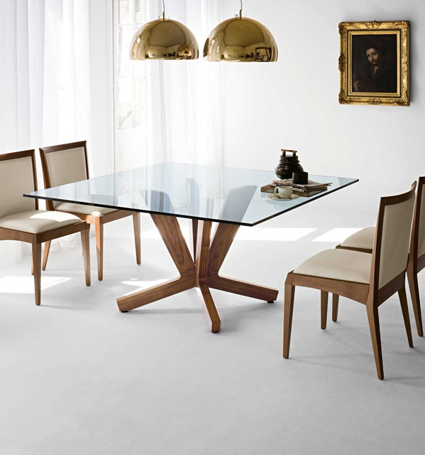 shimmering-square-glass-dining-room-tables