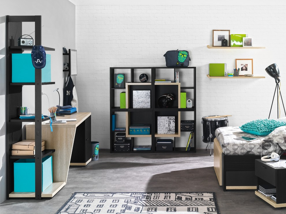 target-bedroom-Kids-Industrial-with-bedside-table-Bluetooth-bookcase1