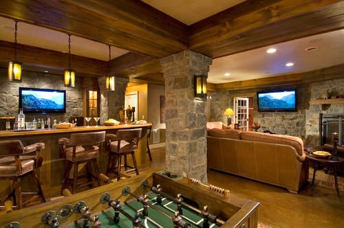 Home Bar Ideas Man Cave Basement Designs