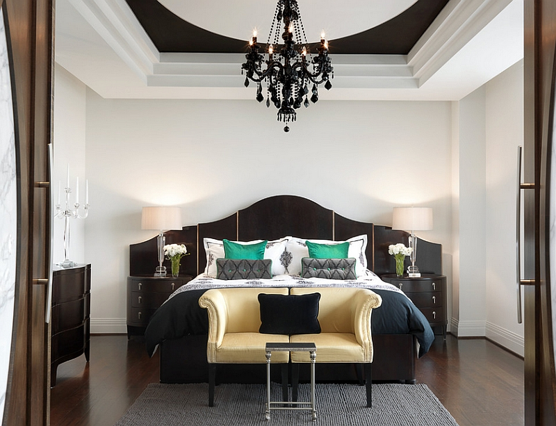 Add-drama-to-the-bedroom-with-a-black-and-white-color-scheme