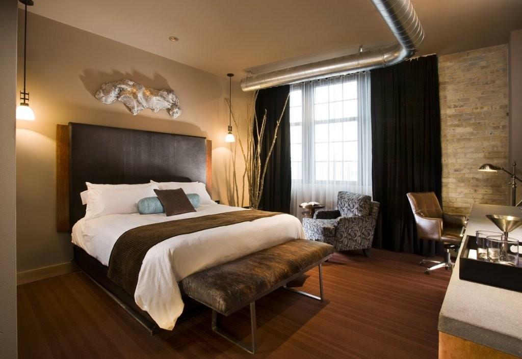 bedroom hotel style