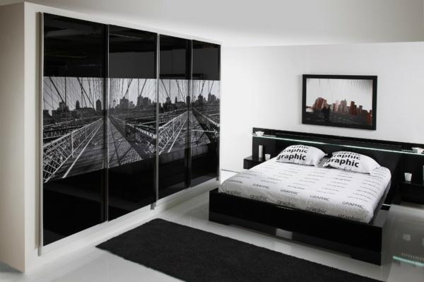 black-and-white-bedroom-interior-design-