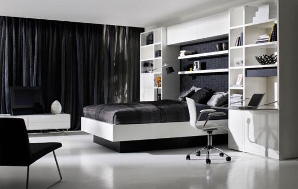 black-and-white-master-bedroom-