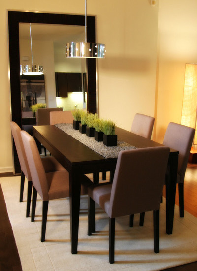 pictures of dining room tables | 25 Elegant Dining Table Centerpiece Ideas