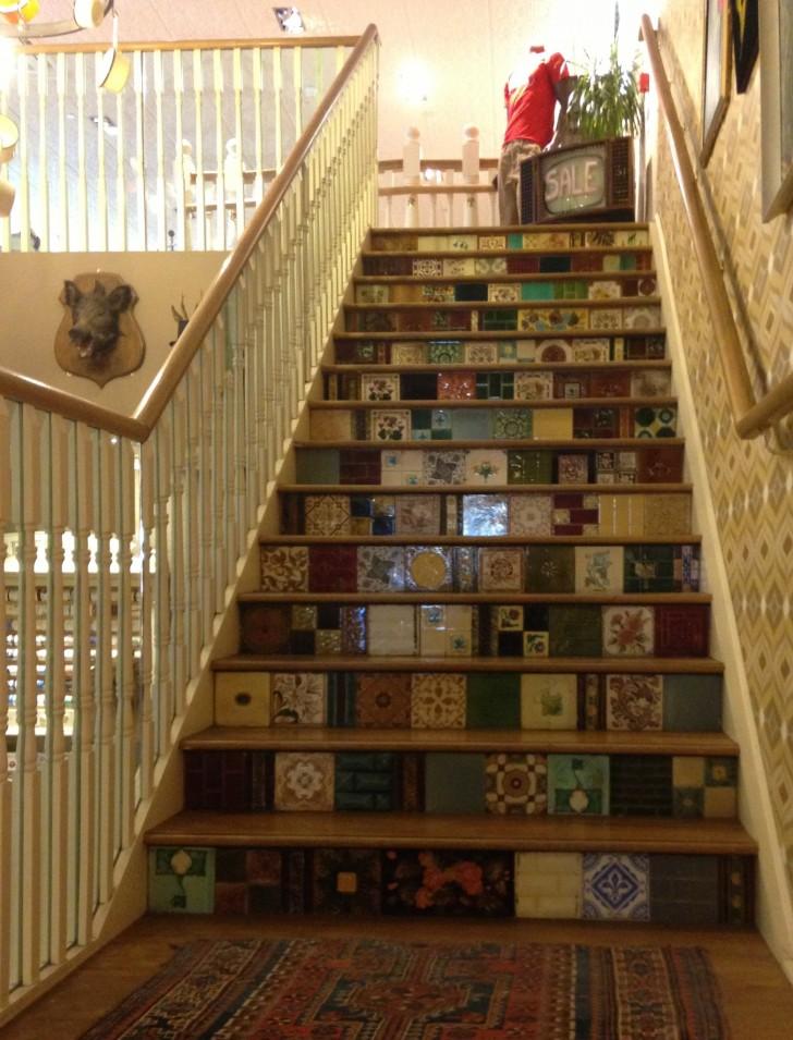 cool-floor-tiles-stairs-featuring-