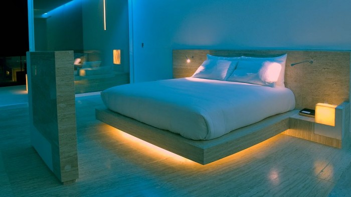 Smart Bedroom Lighting Ideas Uber-Modern Hotel Encanto