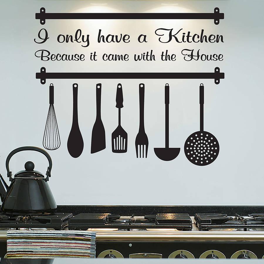kitchen-design-utensils-printed-sticker-wall-art