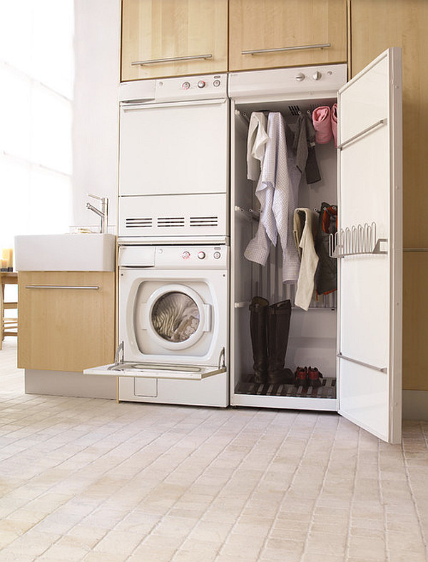 laundry-room-with-drying-cabinet-next-to-the-modern-laundry-machine-