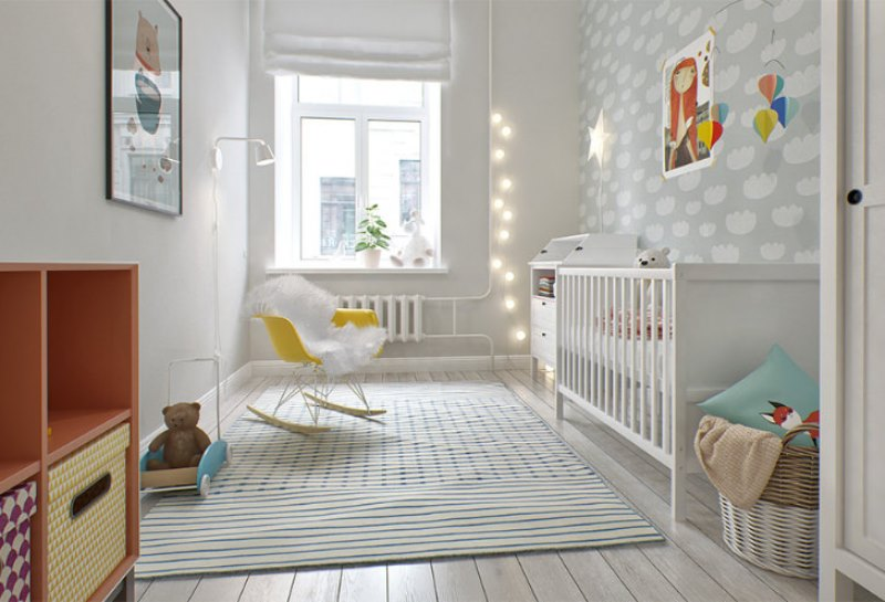 lovely-and-light-scandinavian-style-babys-nursery-design-