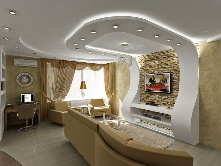 . 17 Amazing Pop Ceiling Design For Living Room   Wow Decor