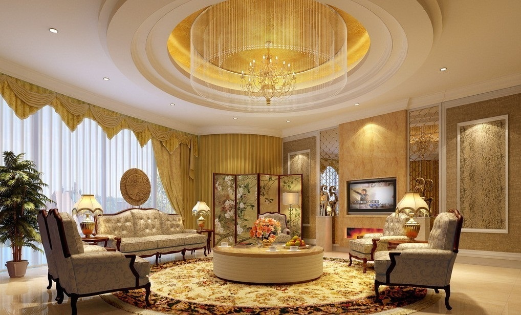 modern-round-pop-ceilings-design-for-living-room-with-sofa-sets