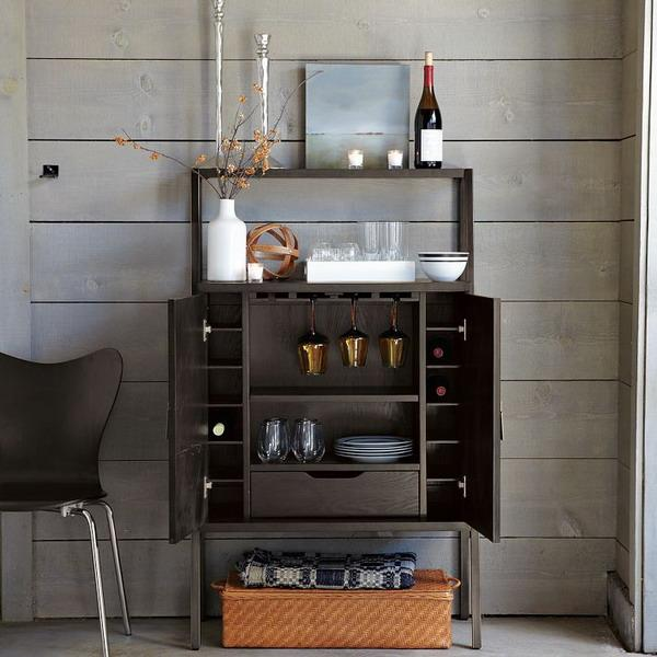 Home Bar Accessories: 20 Mini Bar Designs For Your Home