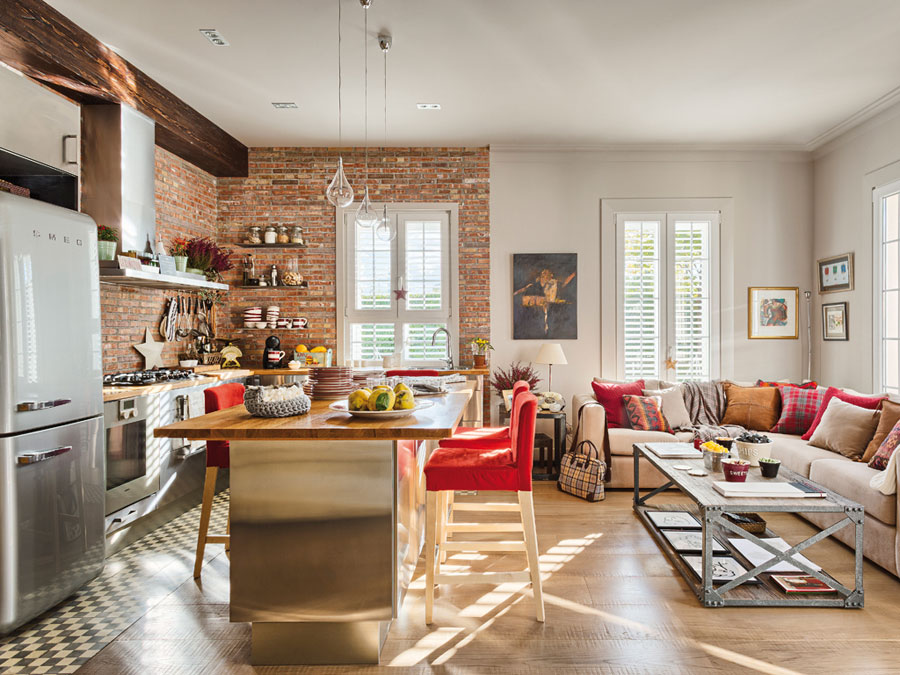 awesome red brick wall interior design | 21 Beautiful Brick Wall designs | Wow Decor