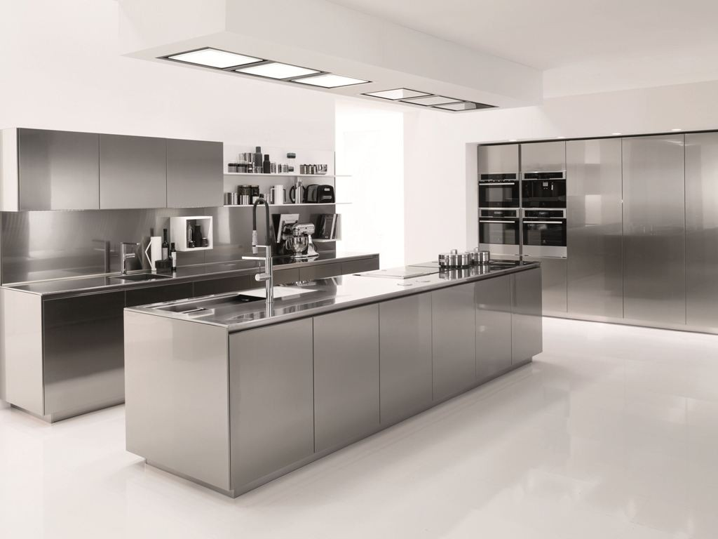 stain less kitchen