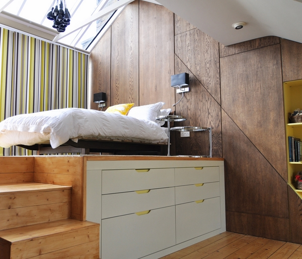 Storage Ideas For Small Bedrooms Platform Bed