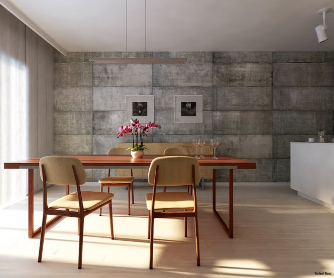utilitarian-dining-room-wall-