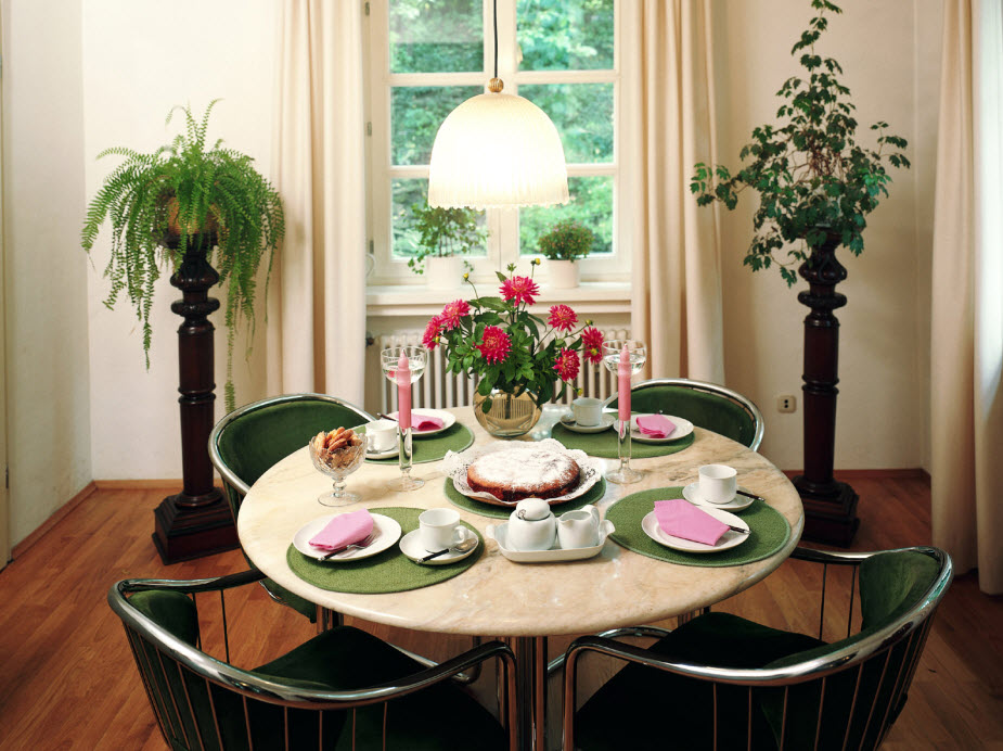 Superieur Winsome Decorating Dining Tabledining Table Decorating Ideas