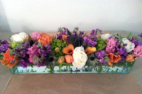 Cylinder-spring-floral-arrangements-