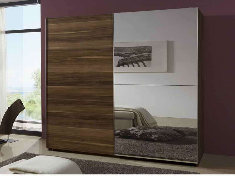 Small-Mirror-Wardrobe-Sliding-Door-Design