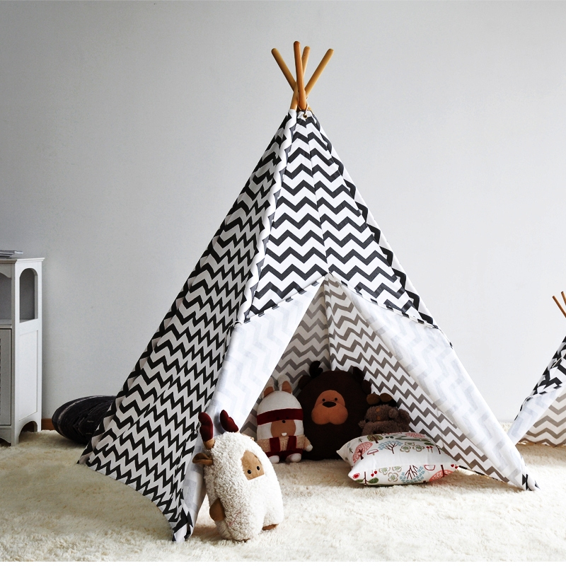 Zigzag-Stripe-Indian-font-b-Kids-b-font-Teepee-font-b-Tent-b-font-Great-Gift