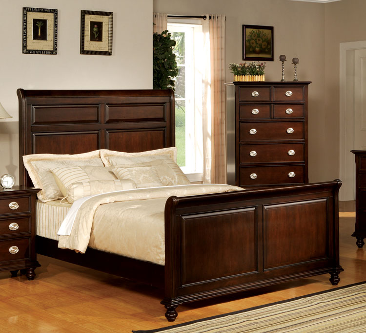 antique-temre-sleigh-bed-set