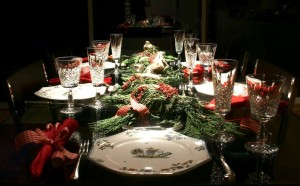 24 Superb Christmas Dining Decor Ideas