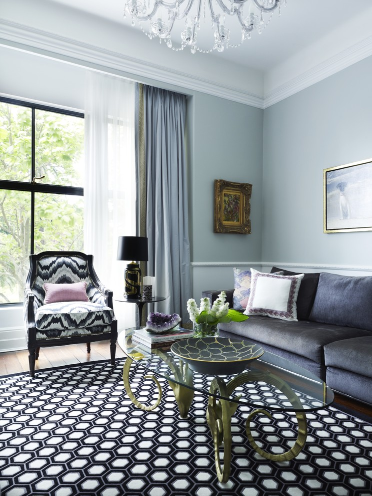 grey-light-blue-living-room