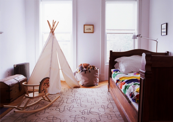 kids_room_teepee tent ideas