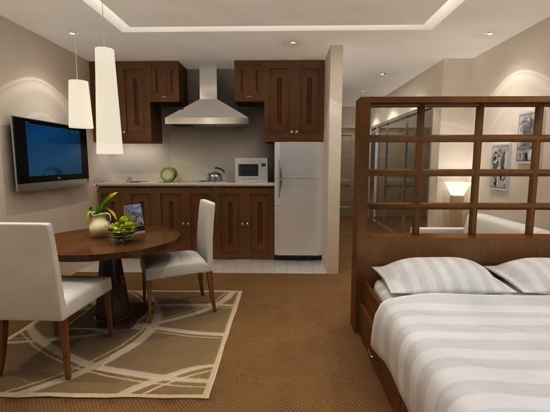 studio apartment interior design, apartment