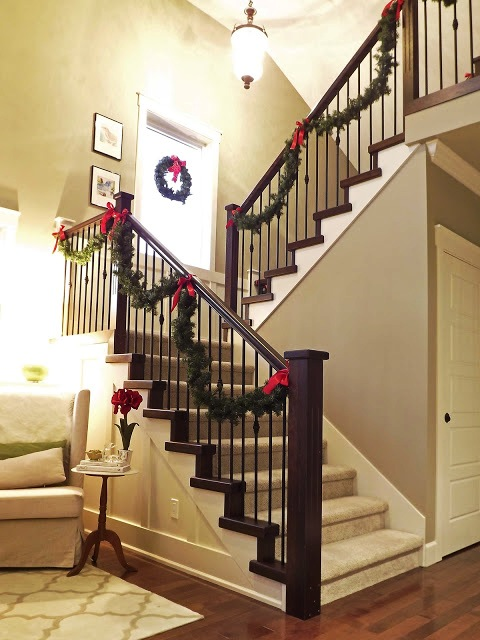 Christmas+Staircase