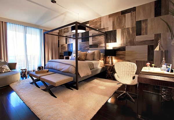 Stunning-weathered-wood-and-stone-accent-wall