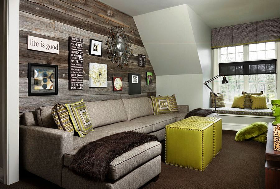 Wooden-panels-give-the-kids-bedroom-a-unique-accent-wall