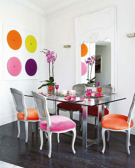 best colorful dining