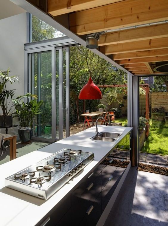 Gallery of outdoor kitchen