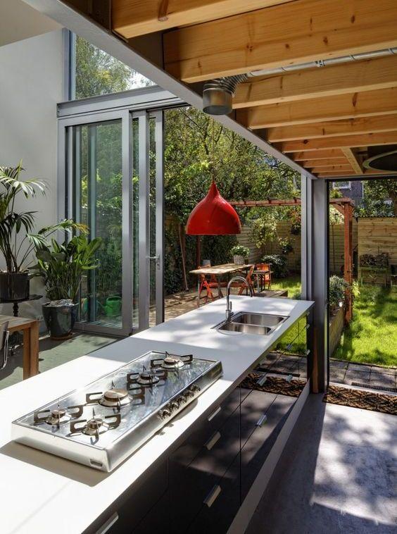 Gallery of outdoor kitchen