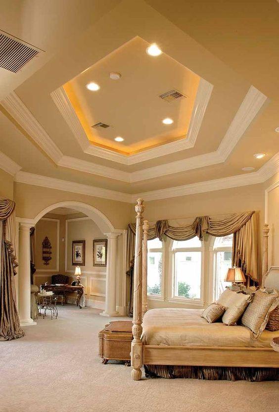 Mediterranean bedroom suite