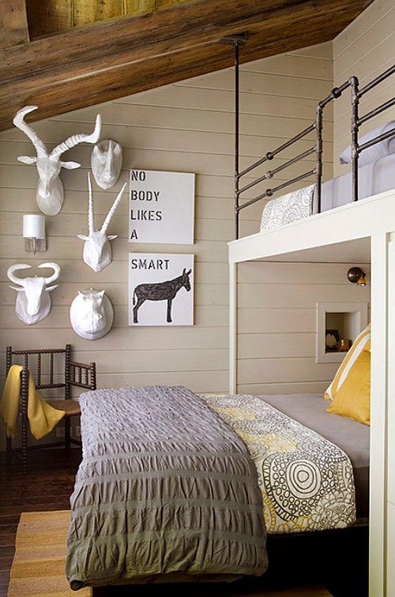 Rustic Bunk Room