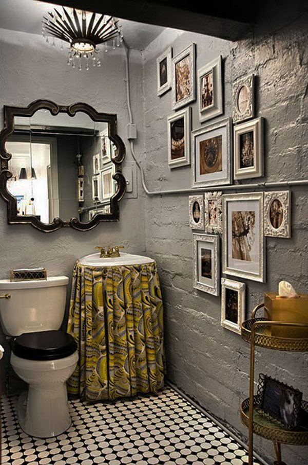 Awesome Traditional Small Bathroom Design