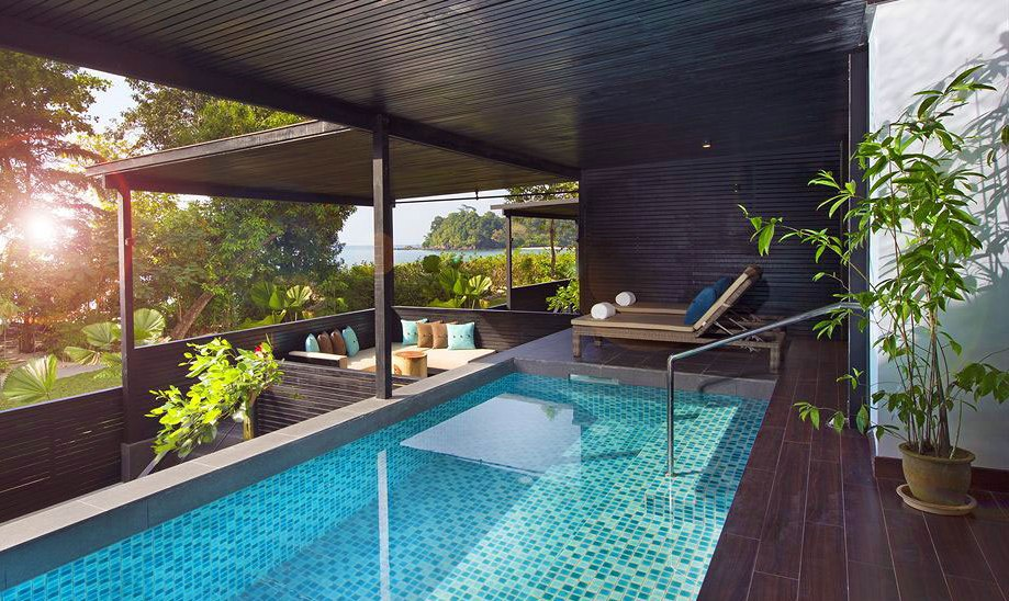 Hotel with private pool