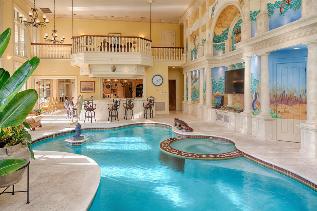 Inspiring Indoor Swimming Pool Design