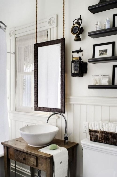 nice all white bathroom