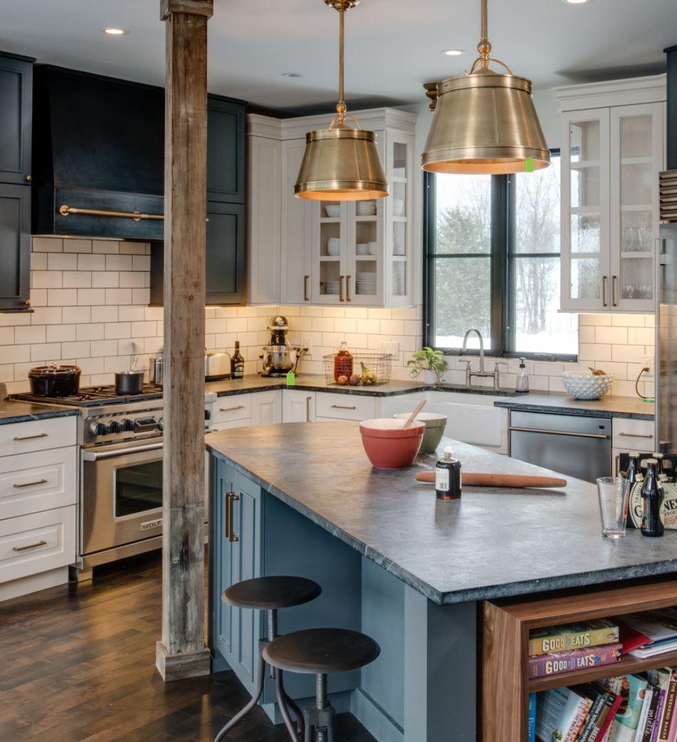 Contemporary-Kitchen-soapstone-countertop