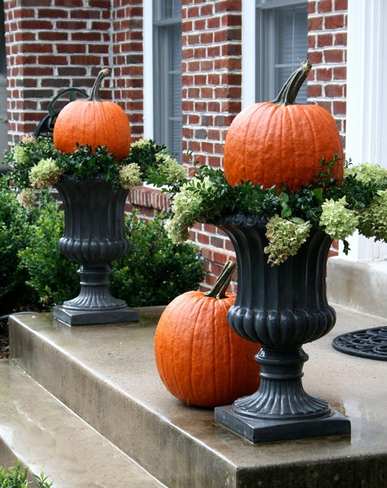 Fall Front Halloween Porch decoration Ideas